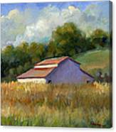 Barn On Lakeville Highway Canvas Print