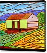 Barn On Springhill Road Canvas Print