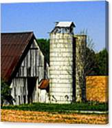 Barn Out Back Canvas Print