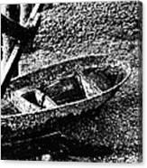 Barnacle Boat Canvas Print