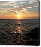 Barnagats Sunrise Canvas Print