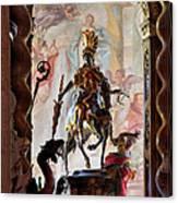 Barock Altar Of Weltenburg Monastery Church Canvas Print