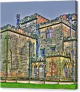 Baronial Home Canvas Print