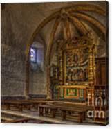 Baroque Church In Savoire France 3 Canvas Print