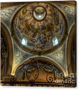 Baroque Church In Savoire France 5 Canvas Print