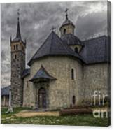 Baroque Church In Savoire France 6 Canvas Print