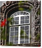 Baroque Style Window Canvas Print