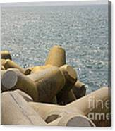 Barrage Canvas Print