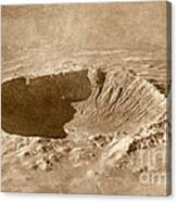 Barringer Crater Canvas Print