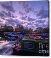Barrow Boats 2.0 Canvas Print