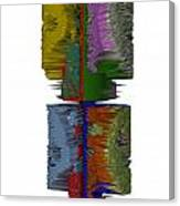 Bart Simpson's Spine Canvas Print