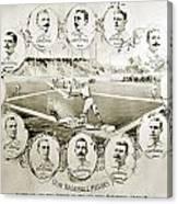 Baseball, 1895 Canvas Print