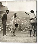 Baseball Game, 1908 Canvas Print
