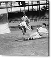 Baseball Game, C1915 Canvas Print