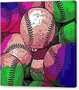 Baseball Canvas Print