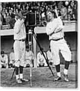 Baseball Players, 1920s Canvas Print