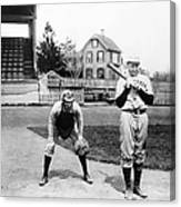 Baseball: Princeton, 1901 Canvas Print