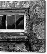 Basement Window Canvas Print