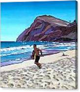 Basic Makapuu Canvas Print