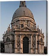 Basilica Of Santa Maria Della Salute Venice Canvas Print