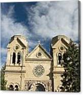 Basilica Of St Francis Canvas Print