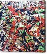 Basin Street Bluescape Canvas Print