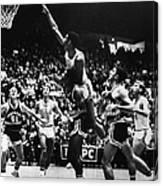 Basketball Game, 1966 Canvas Print