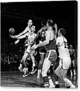 Basketball Game, C1960 Canvas Print