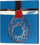 Basketball Goal Canvas Print