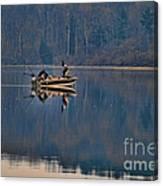 Bass Fishing Canvas Print