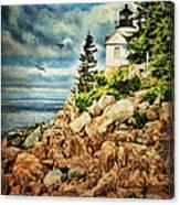 Bass Harbor - Acadia Np Canvas Print