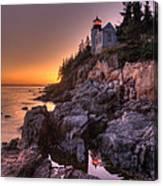 Bass Head Harbor Lighthouse Canvas Print