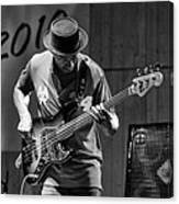 Bass Jazz Canvas Print