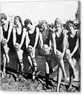 Bathing Beauties, 1916 Canvas Print