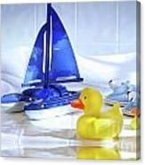 Bathtime Fun  Canvas Print