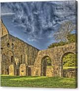 Battle Abbey Ruins Canvas Print