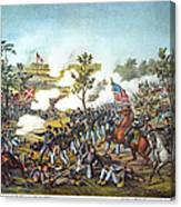 Battle Of Atlanta, 1864 Canvas Print
