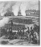 Battle Of Chapultepec Canvas Print