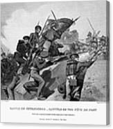 Battle Of Churubusco, 1847 Canvas Print
