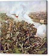 Battle Of Five Forks Virginia 1st April 1865 Canvas Print