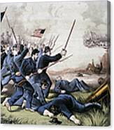 Battle Of Jonesboro, 1864 Canvas Print