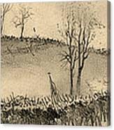 Battle Of Kernstown, 1862 Canvas Print
