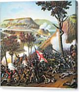Battle Of Missionary Ridge Canvas Print
