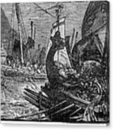 Battle Of Salamis, 480 B.c Photograph by Granger