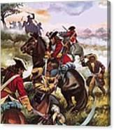 Battle Of Sedgemoor Canvas Print