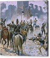 Battle Of Solferino And San Martino Canvas Print