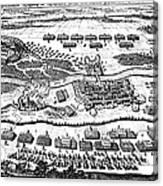 Battle Of Steinau, 1633 Canvas Print