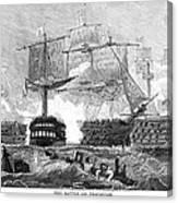 Battle Of Trafalgar, 1805 Canvas Print