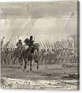 Battle Of Williamsburg Canvas Print