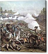 Battle Of Winchester, Canvas Print
